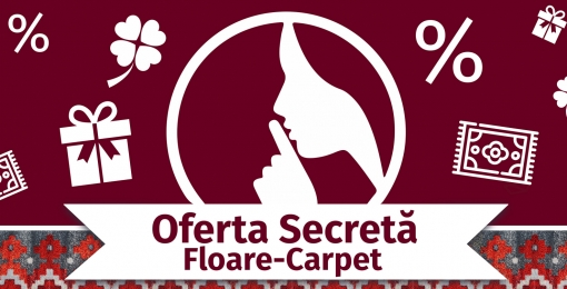 "THE SECRET OFFER for women only from ""FLOARE-CARPET"" SA. continues!"